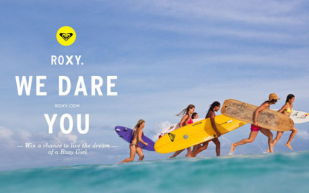 "Dare Yourself: la campagna di Roxy che invita le donne a ""sognare in grande"""